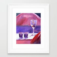 A Series of Wedding Dancer Still-Life Paintings 1. Framed Art Print