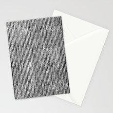 Stockinette Black Stationery Cards