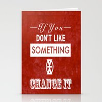 Change It Stationery Cards
