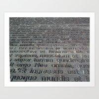 ground texture Art Print