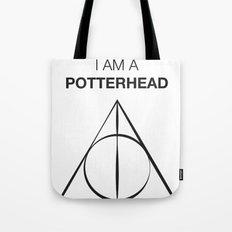 I am a Potterhead Tote Bag