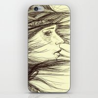 Swept Away iPhone & iPod Skin