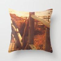 Sunset I Throw Pillow