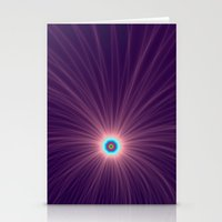 Color Explosion In Purpl… Stationery Cards