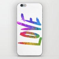 Just Love iPhone & iPod Skin