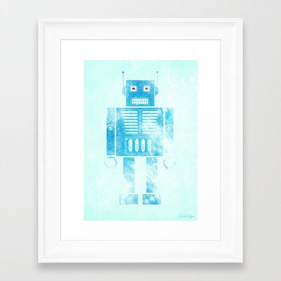 Robophobia Framed Art Print