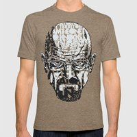 Heisenberg Quotes Mens Fitted Tee Tri-Coffee SMALL