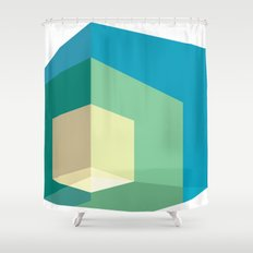 Cube Shower Curtain