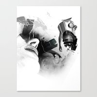 Expulsion Canvas Print