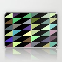 Tilted rectangles pattern Laptop & iPad Skin