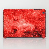 Red Galaxy iPad Case