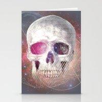 Astral Skull Stationery Cards