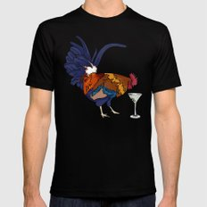 Cocktails Mens Fitted Tee SMALL Black
