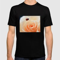 tender happiness Mens Fitted Tee Black SMALL