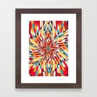 In Flower Framed Art Print