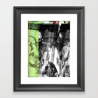 Stop Lookinf Framed Art Print