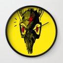 Rabitt Skull Wall Clock