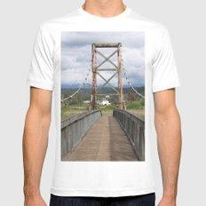 Tolt McDonald Bridge Mens Fitted Tee SMALL White