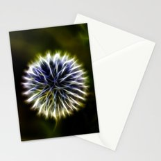 Fractal thistle Stationery Cards