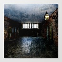 In the Room of Shadow and Light Canvas Print