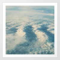 Cloud Sea Art Print