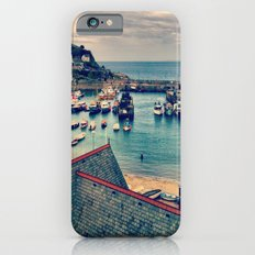 Grey Clouds Above The Ferocious Water  iPhone 6 Slim Case
