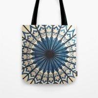 Blue orient  Tote Bag