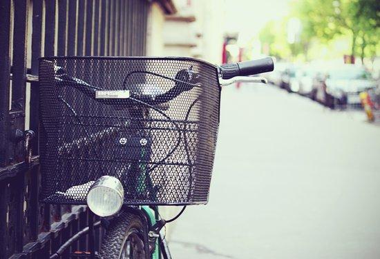 Bike in Paris Art Print
