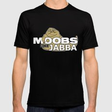 Moobs Like Jabba SMALL Black Mens Fitted Tee