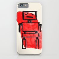 iPhone & iPod Case featuring Red Robot by Sian Roberts