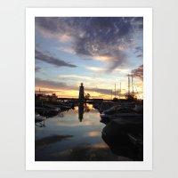 Sylvan Lake Lighthouse Art Print