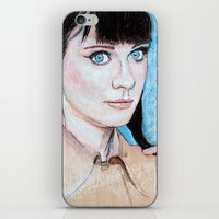 Zooey iPhone & iPod Skin