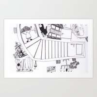 eschers Art Print