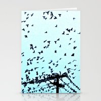 After Hours At The Wire Stationery Cards