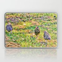 Hens On The Farm Laptop & iPad Skin