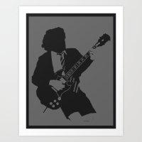 Angus Young Art Print