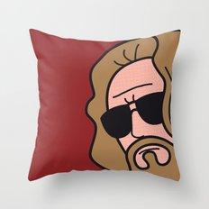 Pop Icon - The Dude Throw Pillow