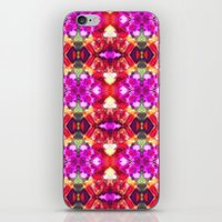 Palace Passion Flower Pa… iPhone & iPod Skin