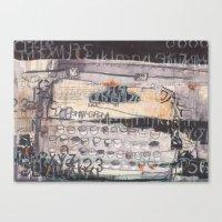 Typewriter!  Canvas Print