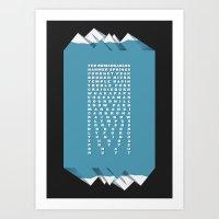 NZ Ski Fields Art Print