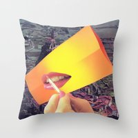 Pleasure Correlation Upg… Throw Pillow