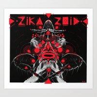 zikazoid Art Print