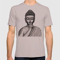 BUDDHA Mens Fitted Tee Cinder SMALL
