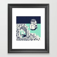 Departures Framed Art Print