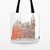 NYC Jefferson Market Lib… Tote Bag