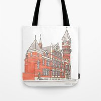 NYC Jefferson Market Library Tote Bag
