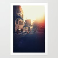 Work in the Morning... Art Print