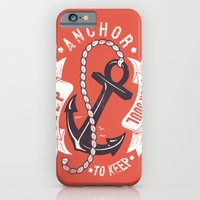 Anchor your soul iPhone 6 Slim Case