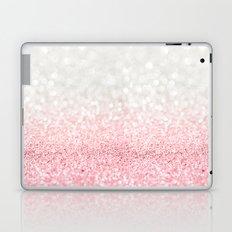 Pink Ombre Glitter Laptop & iPad Skin