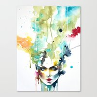 Escape From Reality Canvas Print